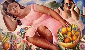 «Mujeres con frutas»