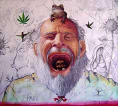Sandro Israel López Cortés, «Euforia», óleo sobre tela, 2007.