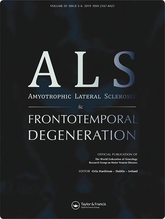 Amyotrophic Lateral Sclerosis and Frontotemporal Degeneration