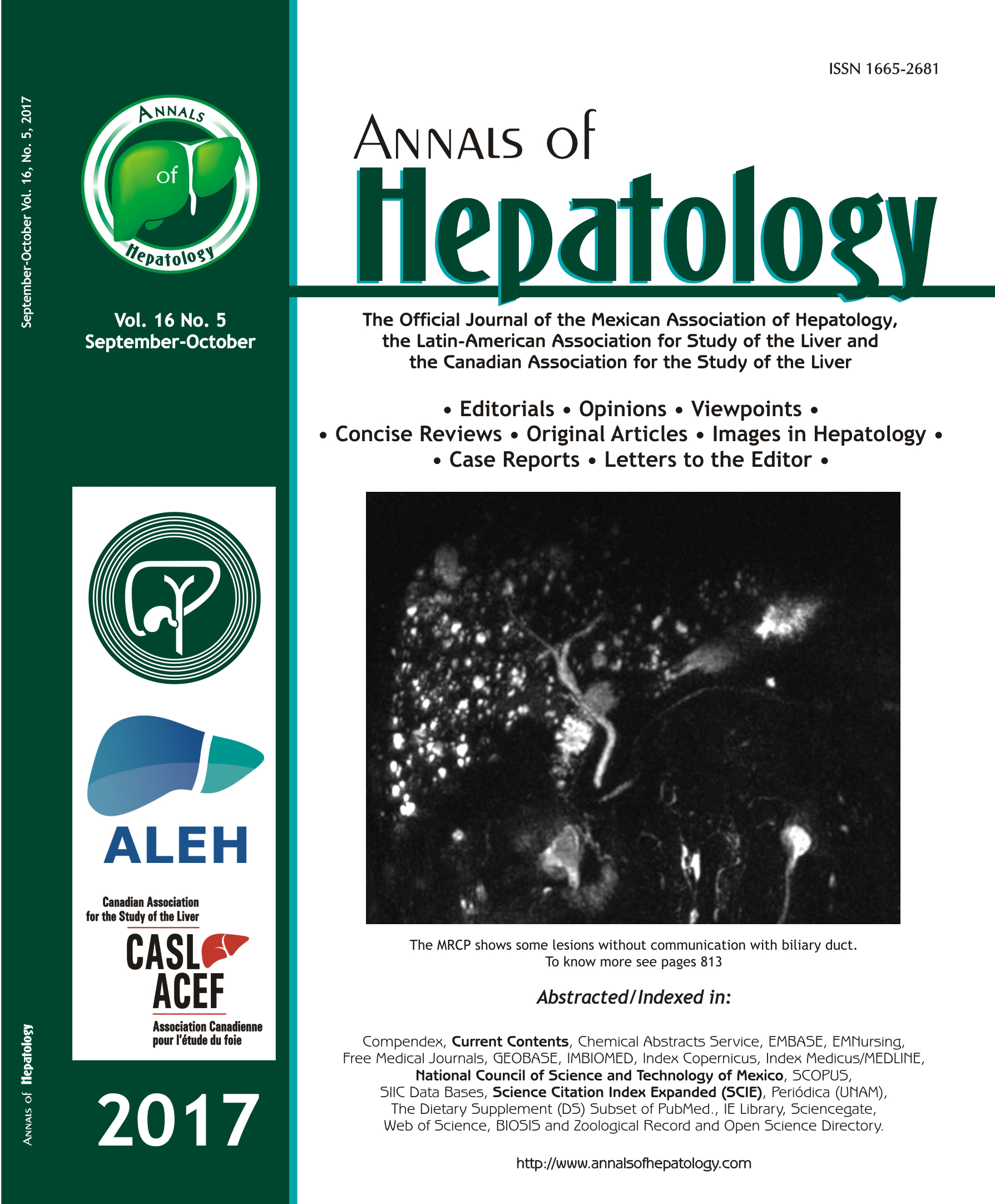 Annals of Hepatology