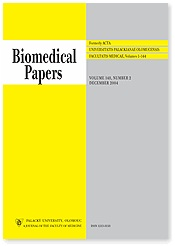 Biomedical papers of the Medical Faculty of the University Palacky´