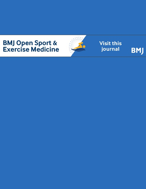 BMJ Open Sport & Exercise Medicine