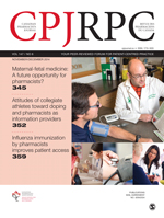 Canadian Pharmacists Journal