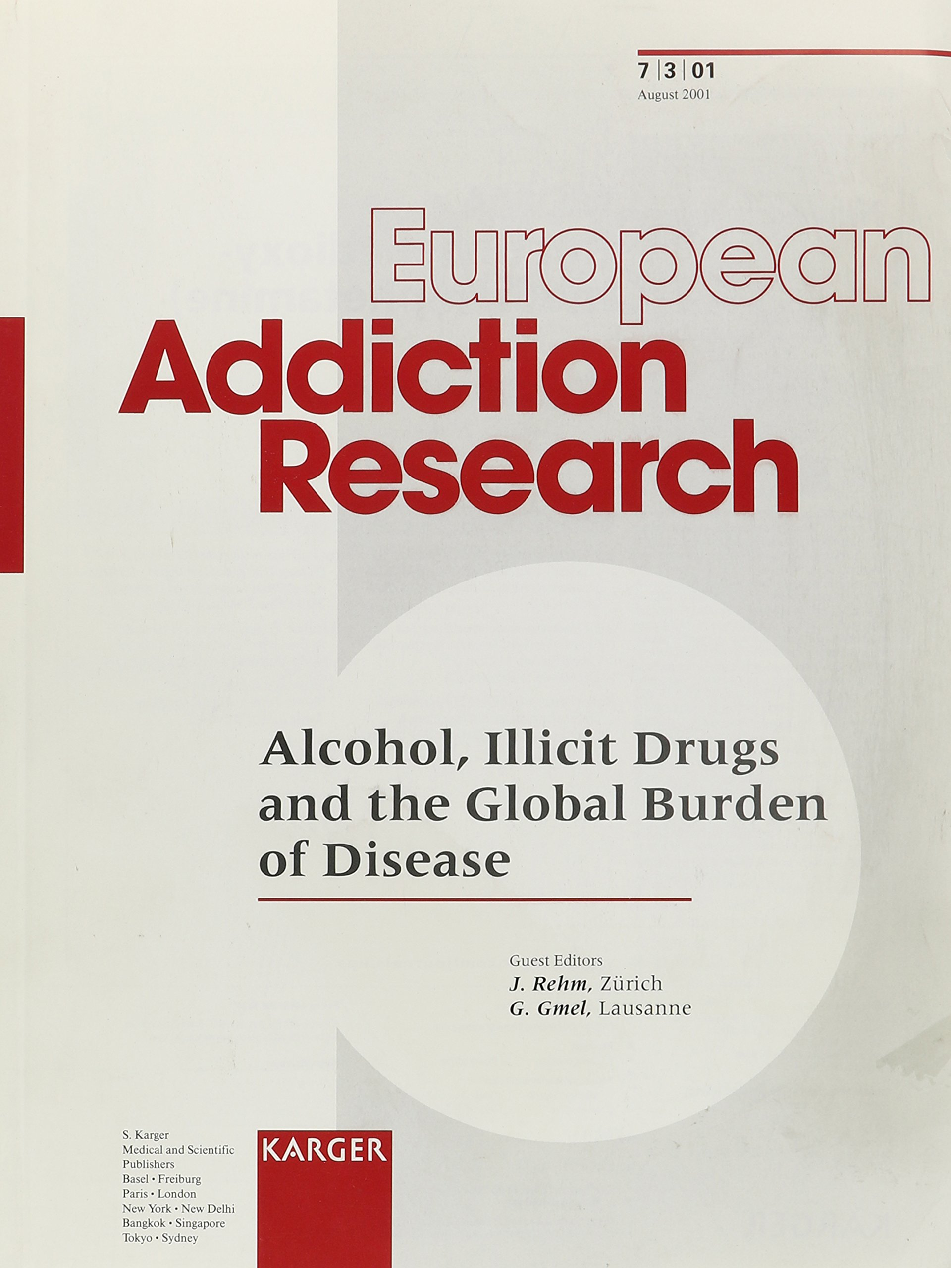 European Addiction Research