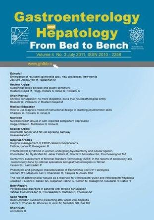 Gastroenterology and Hepatology from Bed to Bench
