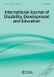 International Journal of Disability, Development and Education