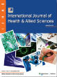 International Journal of Health and Allied Sciences