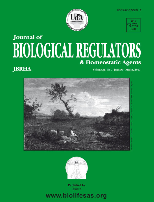 Journal of Biological Regulators and Homeostatic Agents