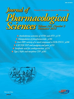 Journal of Pharmacological Sciences