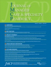 Journal of Managed Care & Specialty Pharmacy