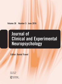 Journal of Clinical and Experimental Neuropsychology