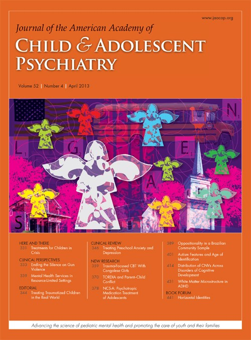 Journal of the American Academy of Child and Adolescent Psychiatry