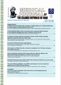 Medical journal of the Islamic Republic of Iran