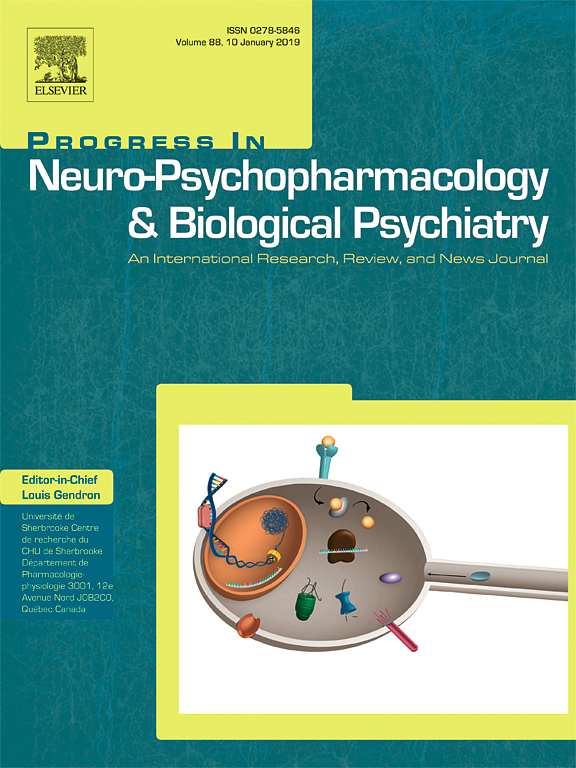 Progress in Neuro-Psychopharmacology & Biological Psychiatry