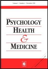 Psychology, Health, and Medicine