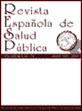 Revista Espa�ola de Salud P�blica