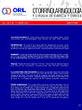 Revista Otorrinolaringología y Cirugía de Cabeza y Cuello