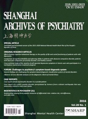 Shanghai Archives of Psychiatry