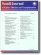 Saudi Journal of Kidney Diseases and Transplantation